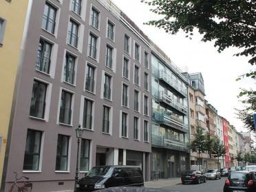 Düsseldorf/ Unterbilk, Kronprinzenstraße (Wohnanlage)